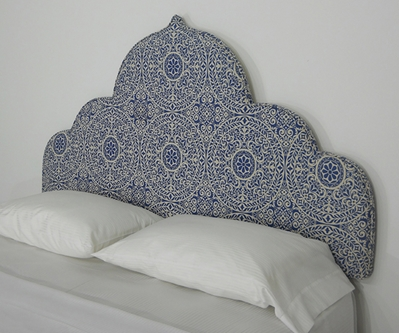 peel and stick upholstered wall mounted headboard